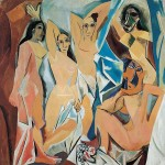 Figure 3. Picasso, Les Demoiselles d'Avignon, 1907