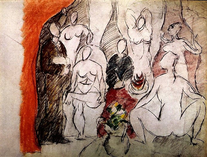 a comprehensive analysis of les demoiselles davignon a painting by pablo picasso Les demoiselles d'avignon (detail of centre section) by pablo picasso regarded as one of the greatest 20th century paintings les demoiselles d'avignon (1907.