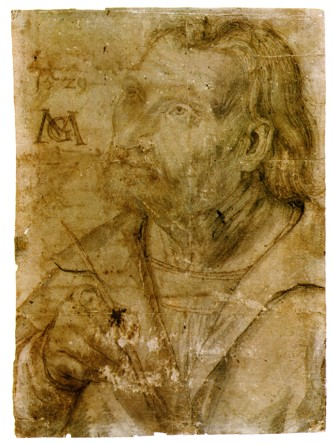Fig. 7. Grünewald, Self-portrait, c. 1512–16, Universitätsbibliothek, Erlangen-Nürnberg, Germany.