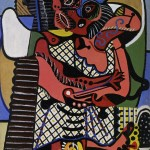 Fig. 1  Pablo Picasso, The Kiss (Musée Picasso, Paris; 1925)