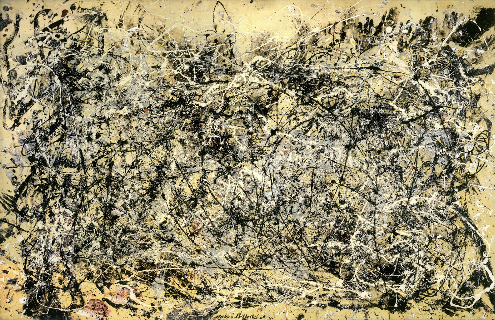 Pollock's Formalist Spaces