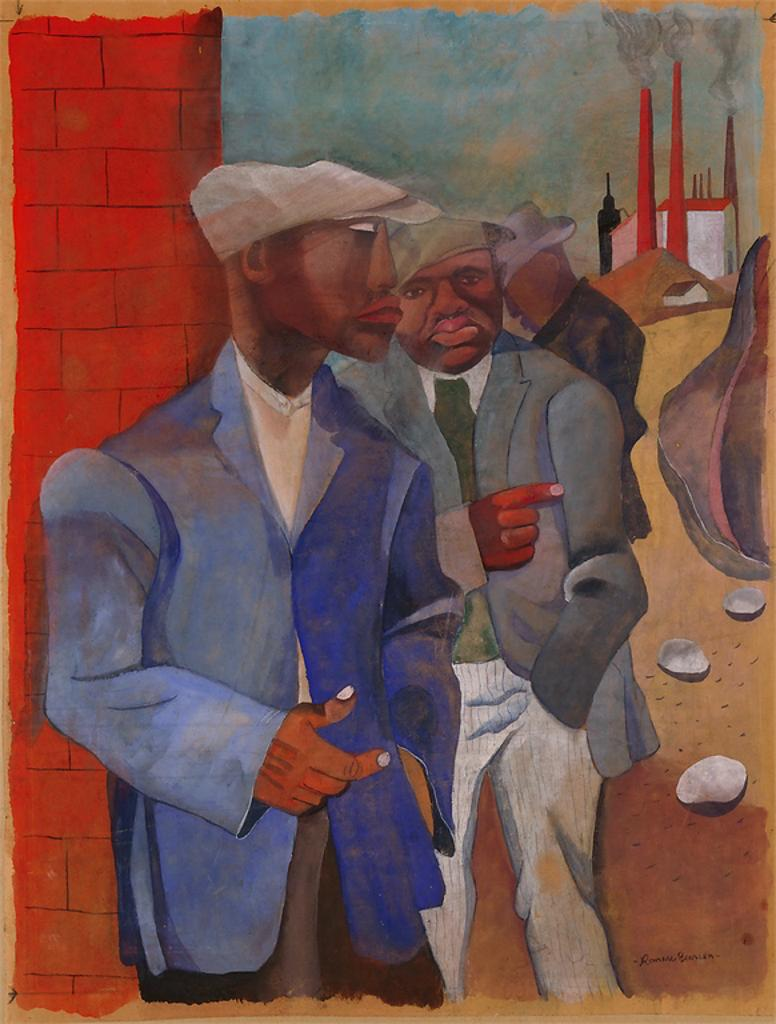 conjure and collapse in the art of romare bearden