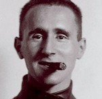Brecht with Cigar