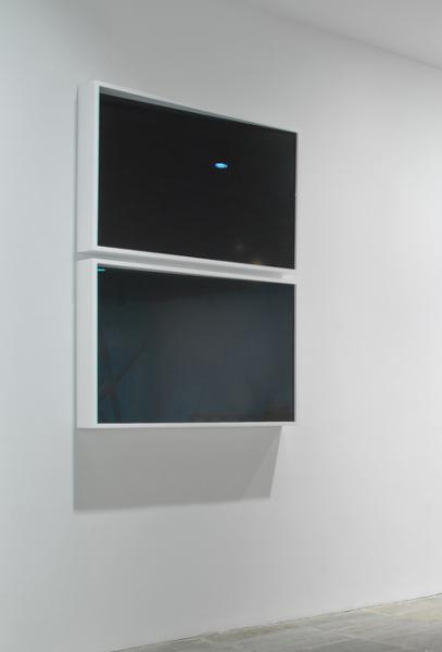 Liz Deschenes, Untitled, 2012; Silver toned photogram; Each: 35 x 50 inches (88.9 x 127 cm)