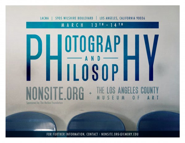 Photography and Philosophy Poster
