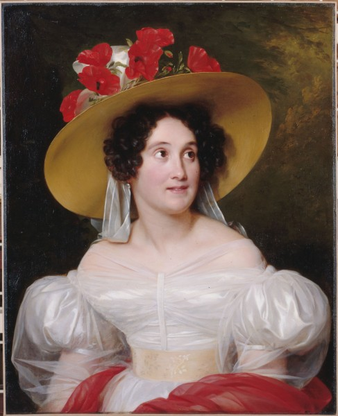 Fig. 5. Louis Hersent,Portrait of Madame Arachequesne, 1831, oil on canvas, 84 x 65 cm. (Musée Carnavalet, Paris). Photo: Roger-Viollet / Parisienne de la Photographie, Paris.