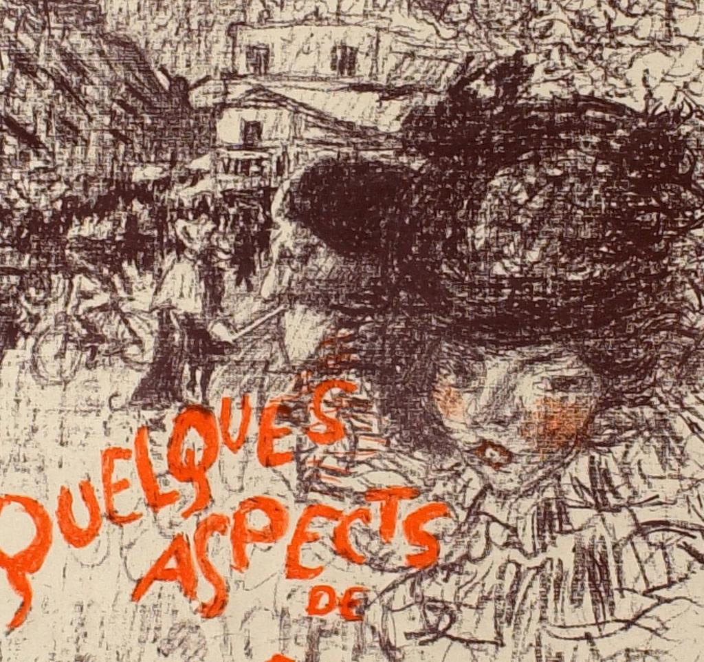 Fig. 12. Detail from Bonnard, Cover of the album Quelques aspects de la vie de Paris (Some Aspects of Parisian Life)