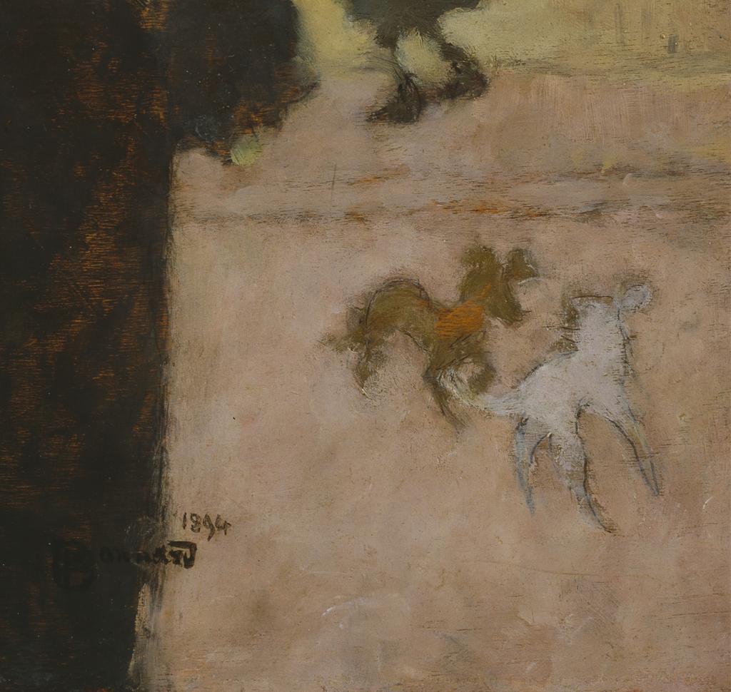 Fig. 13. Detail from Bonnard, La rue en hiver (The Street in Winter)