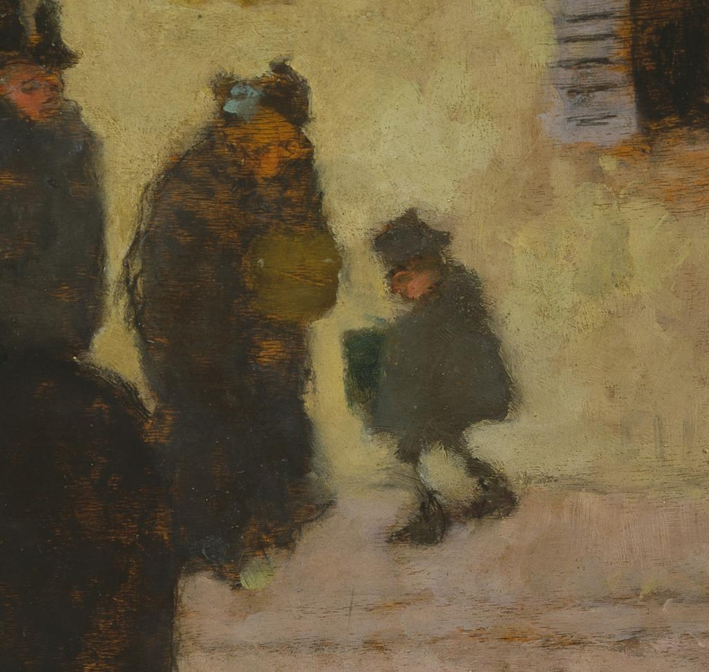 Fig. 14. Detail from Bonnard, La rue en hiver (The Street in Winter)