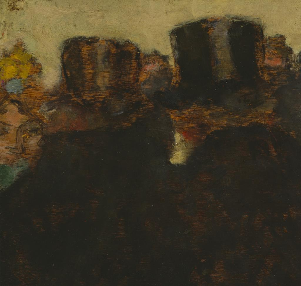 Fig. 15. Detail from Bonnard, La rue en hiver (The Street in Winter)
