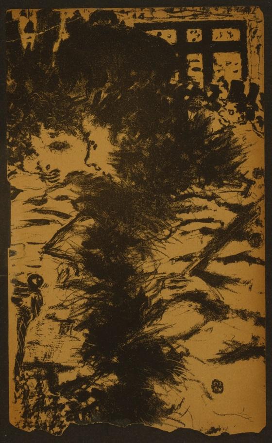 Fig. 17. Pierre Bonnard, Les parisiennes (Parisians), 1893, Lithograph on cream wove paper, 21.6 x 13.7 cm (Library of Congress, Washington)