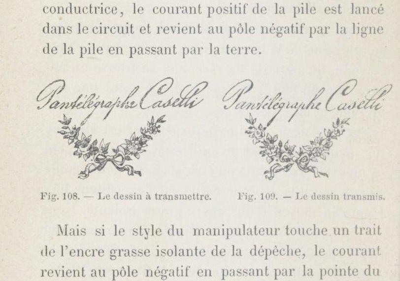 Fig. 10. From Paul Laurencin, Le télégraphe terrestre, sous-marin, pneumatique : histoire, principes, mécanismes, applications, règlements, tarifs, etc. (Paris: J. Rothschild, 1877). Bibliothèque nationale de France, Paris