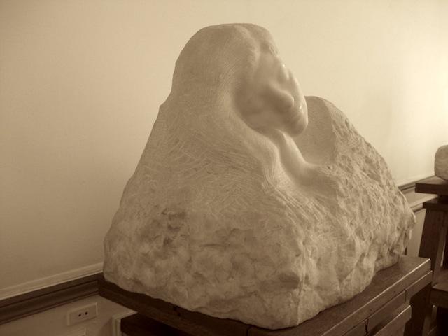 Auguste Rodin, Le Sommeil (Sleep), 1889-1894, Marble, H: 48 cm (Musée Rodin, Paris)