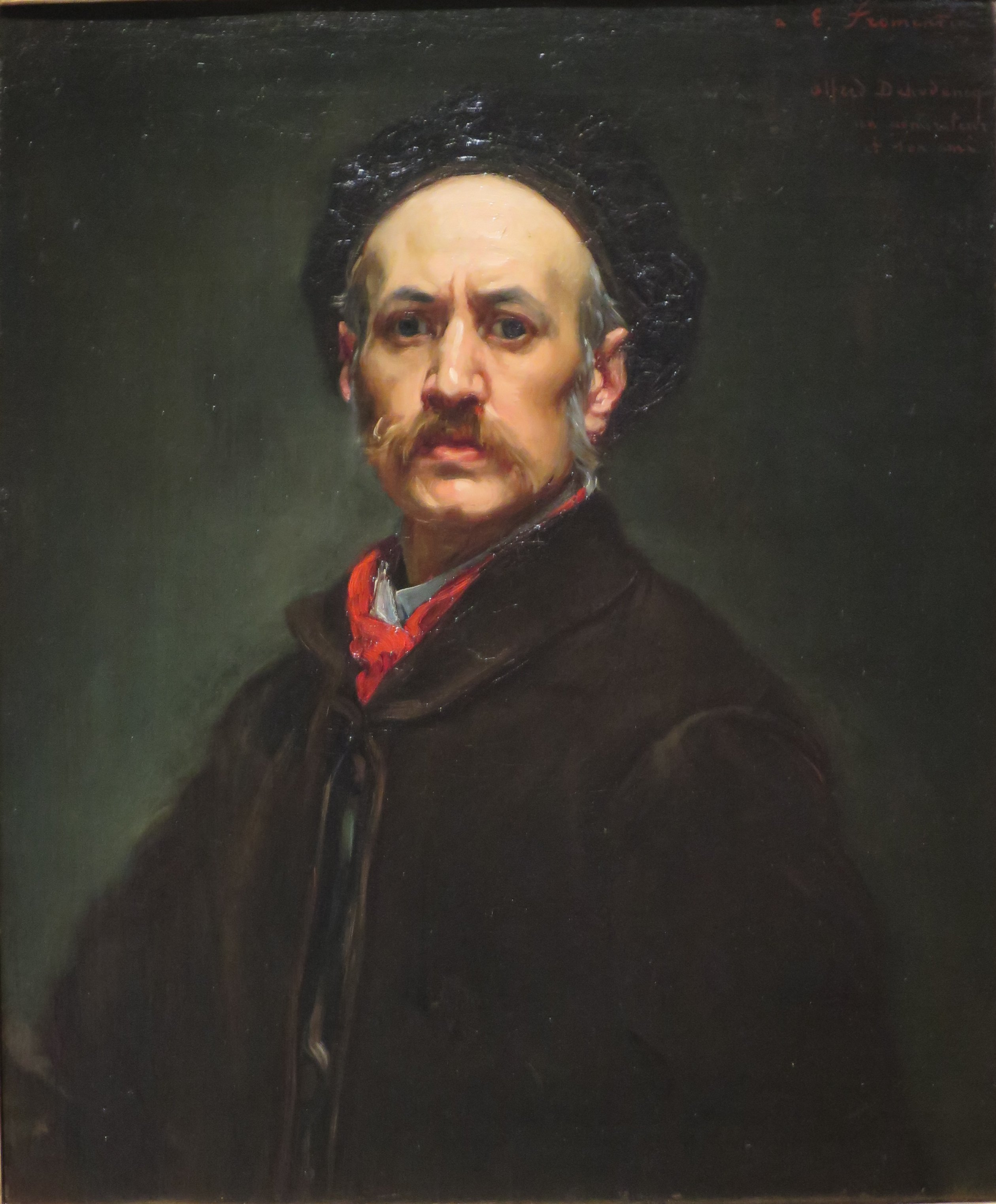 Figure 8. Alfred Dehodencq, Self Portrait, 1870, oil on canvas, High Museum of Art, Atlanta.