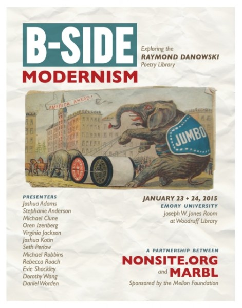 B-Side Modernism Flyer