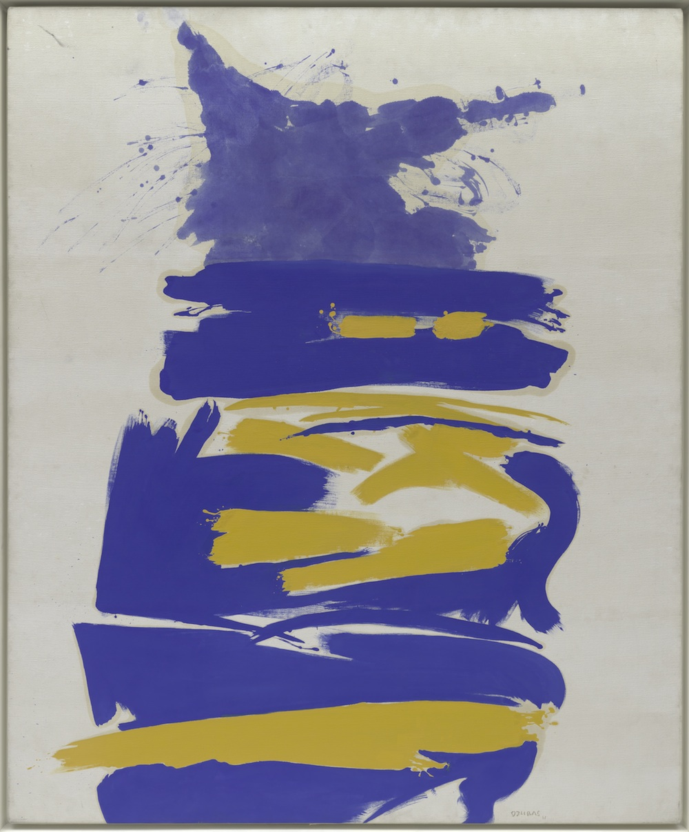 Figure 1 One Times One, 1961 oil on canvas 84 1/8 x 69 ½ in (213.7 x 176.5 cm) Private Collection since 2015 Formerly, Solomon R. Guggenheim Museum, New York 61.1592