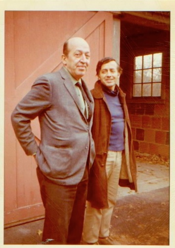 Figure 16 Clement Greenberg and Friedel Dzubas Ithaca, New York, 1970 Courtesy, Friedel Dzubas Estate Archives