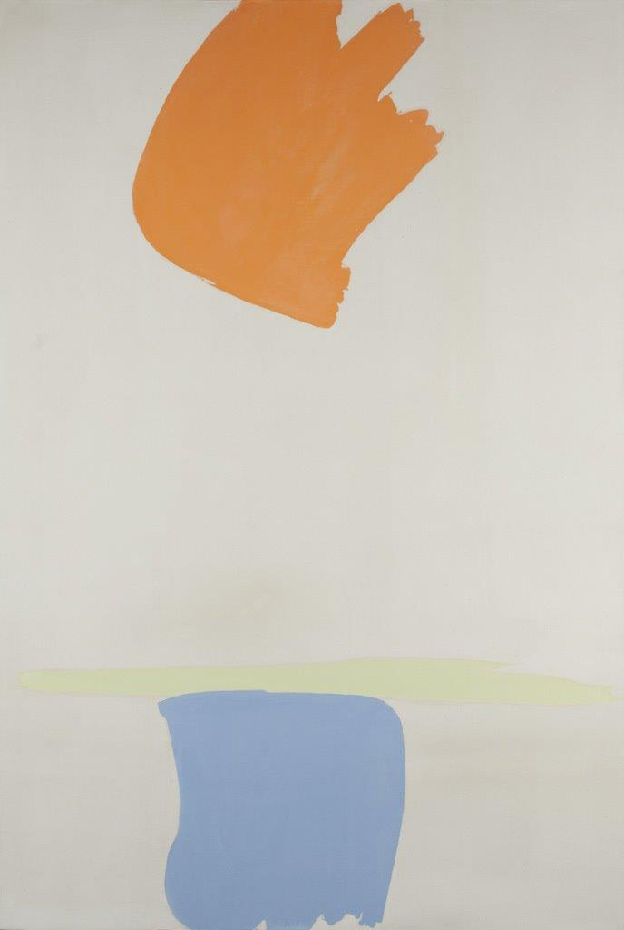 Sartoris, 1963 Oil on canvas 90 x 61 in (228.6 x 158 cm) Courtesy of Loretta Howard Gallery