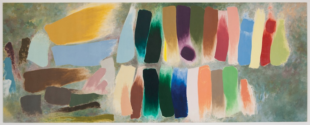 Figure 8 Procession, 1975 Magna acrylic on canvas 116 x 294 in (295 x 746 cm) Courtesy Loretta Howard Gallery