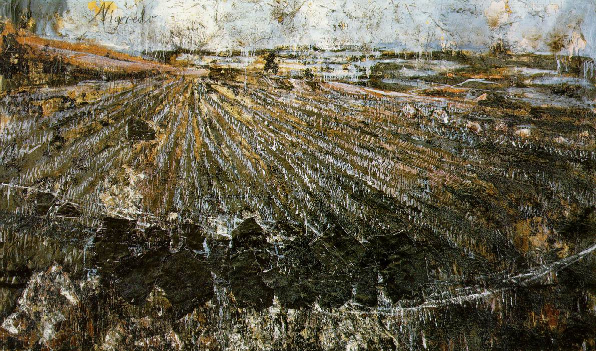 Fig. 1.  Anselm Kiefer, Nigredo (1984; Philadelphia Museum of Art)