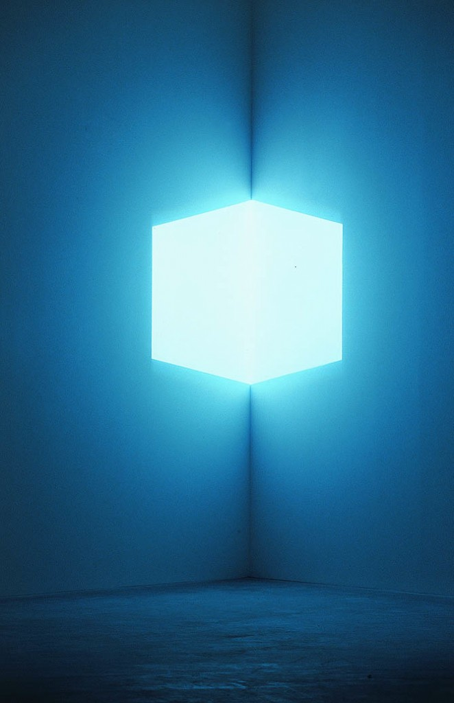 Fig. 1 James Turrell, Afrum Pale Blue, 1968