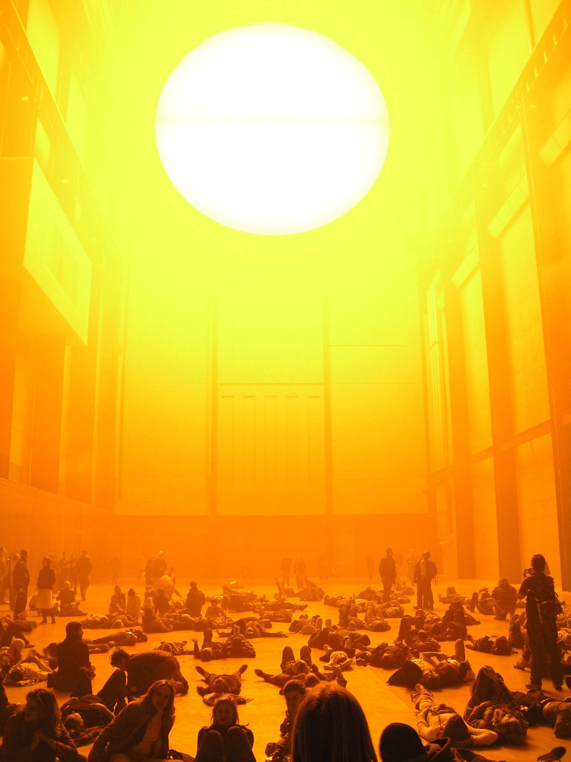 Fig. 3 Olafur Eliasson, Weather Project, 2003