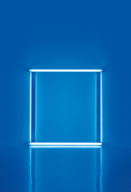 Fig. 4 Dan Flavin, Untitled: To Karin and Walther, 1966-71