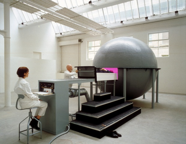 Fig. 7 James Turrell, Gasworks (A Ganzfeld Sphere), The Henry Moore Sculpture Studio, 1993