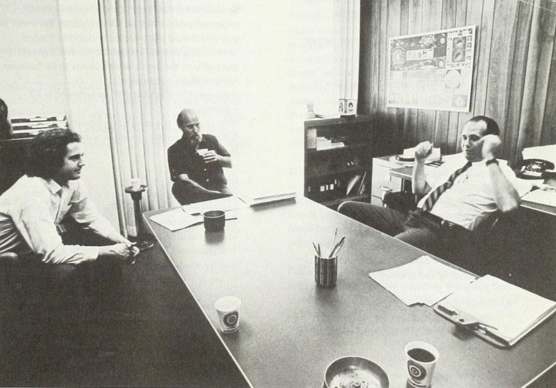 Fig. 6 James Turrell, Robert Irwin, and Edward C. Wortz, 1969