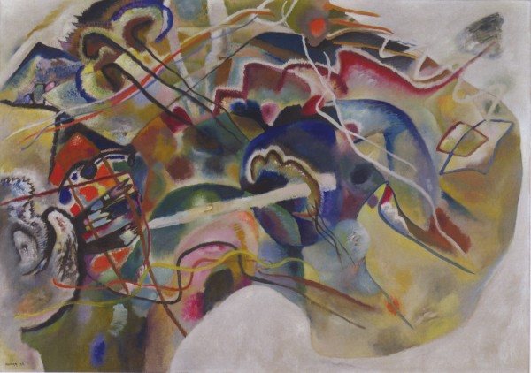 Fig 1. Wassily Kandinsky, Painting with White Border (1913) Oil on canvas 140.3 x 200.3 cm Solomon R. Guggenheim Museum, New York