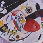 Fig. 2. Wassily Kandinsky, Red Spot II (1921) Oil on canvas 131 x 181 cm Städtische Galerie im Lenbachhaus, Munich