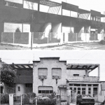 Fig. 3. Le Corbusier, Pessac before and after (in Boudon)