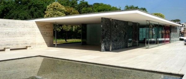 Fig. 4. Mies van der Rohe, Barcelona Pavilion, 1929