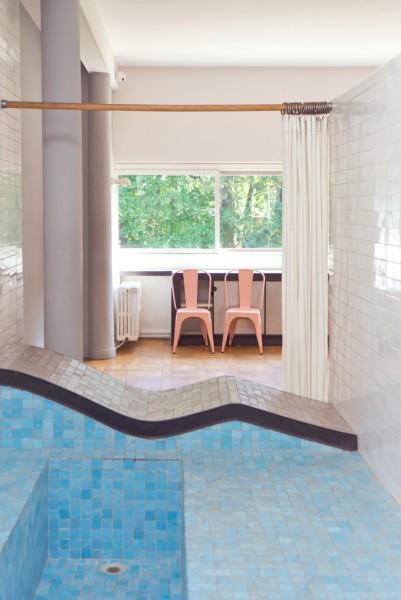 Fig. 6. Le Corbusier, Villa Savoye, bathroom, 1929