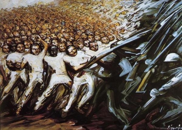 David Alfaro Siqueiros, The Struggle for Emancipation, 1961